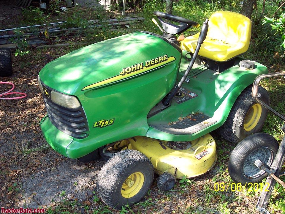Tractordata Com John Deere Lt155 Tractor Photos Information