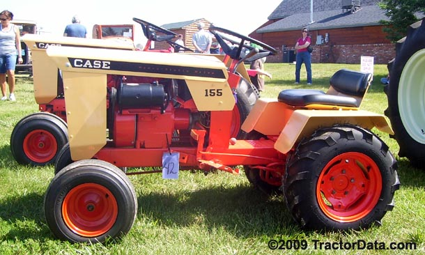 TractorDatacom JI Case 155 tractor photos information