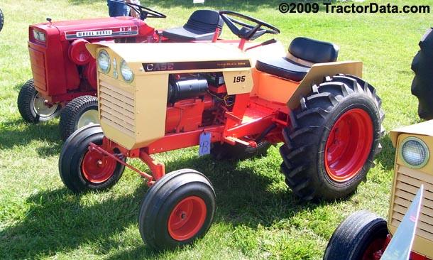 J I Case 195 Tractor Photos Information