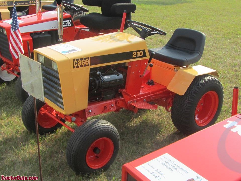 Case 222 Garden Tractor Parts : Case tractor serial number location