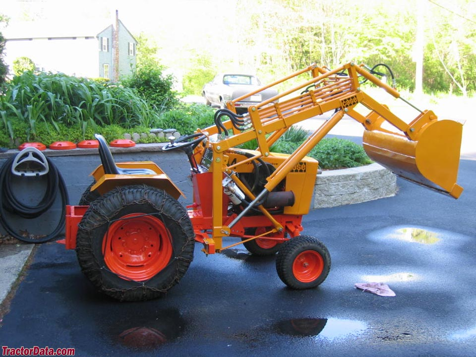 1971 Case model 444 with loader.