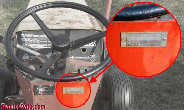 tractordata com j i case 446 tractor information photo of 446 serial number