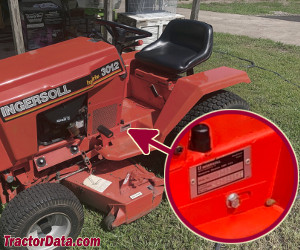 Ingersoll 3016 serial number location