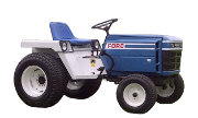 Ford LGT-195 lawn tractor photo