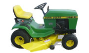 John Deere 111 lawn tractor photo