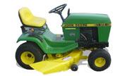 John Deere 111H lawn tractor photo