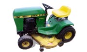 John Deere 116H lawn tractor photo