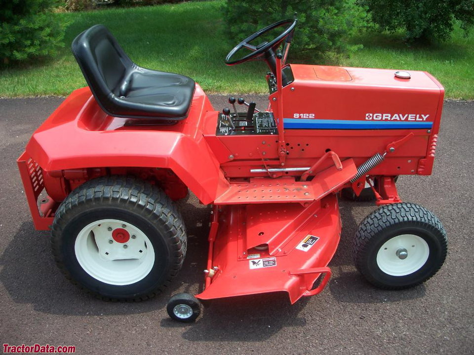 Tractordata Com Gravely 8122 Tractor Photos Information