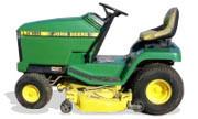 John Deere LX188 lawn tractor photo