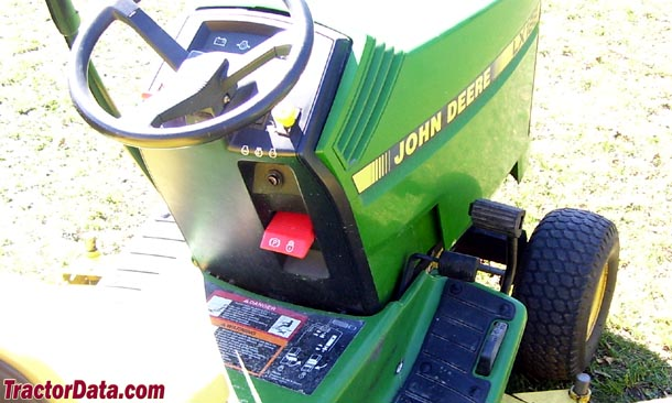 John Deere LX188 K61 transmission photo