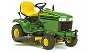 John Deere LX266 lawn tractor photo