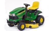 John Deere LA155 lawn tractor photo
