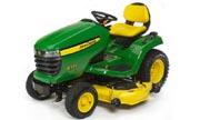 John Deere X530 lawn tractor photo