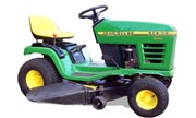 John Deere STX38 Black Deck lawn tractor photo