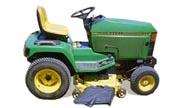 John Deere 415 lawn tractor photo