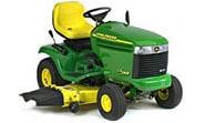 John Deere LX288 lawn tractor photo