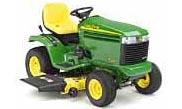 John Deere LX289 lawn tractor photo