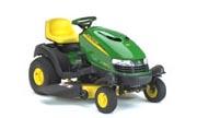 John Deere SST15 lawn tractor photo
