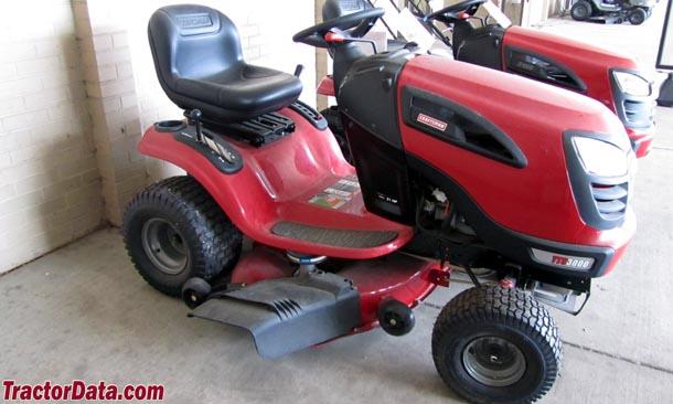 Craftsman Yt 3000 Lawn Tractor : Tractordata craftsman  tractor photos information