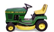John Deere STX30 lawn tractor photo