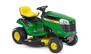 John Deere D100 lawn tractor photo