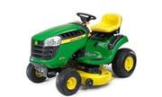 John Deere D110 lawn tractor photo