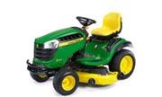 John Deere D160 lawn tractor photo