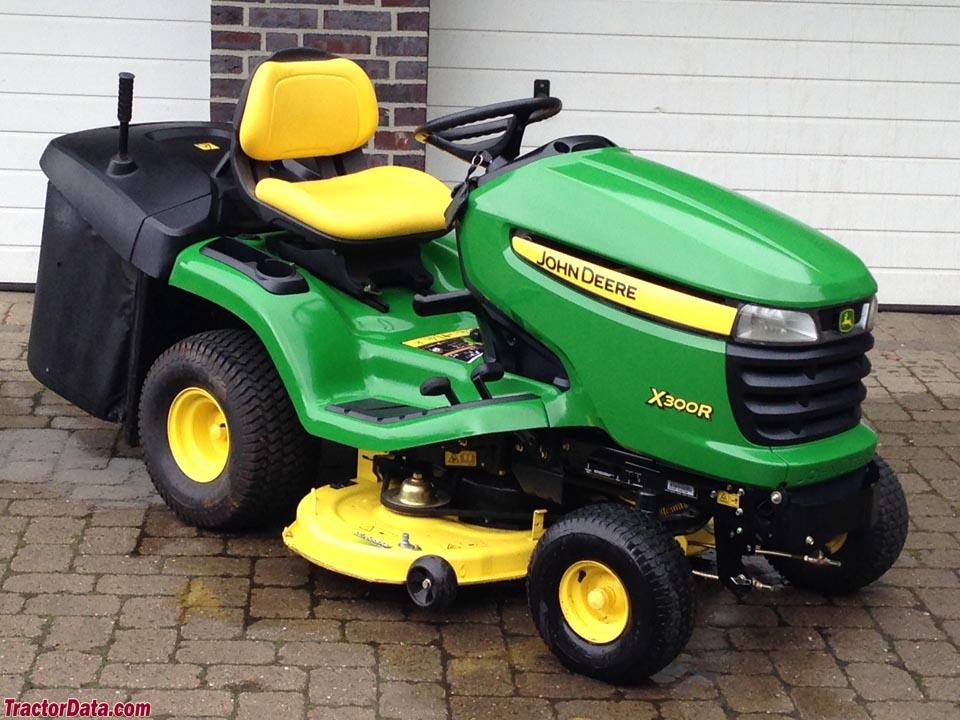 john deere x300r tractor photos information