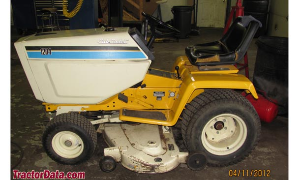 Cub Cadet 1204, left side