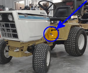 Service Battery Charging System >> TractorData.com Cub Cadet 1872 tractor information