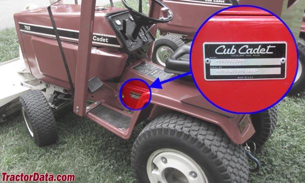 782 Cub Cadet Garden Tractor : Tractordata cub cadet tractor photos information