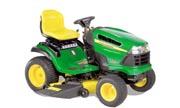 John Deere X140 lawn tractor photo