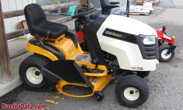 Td B on Cub Cadet Ltx 1046 Kw Manual