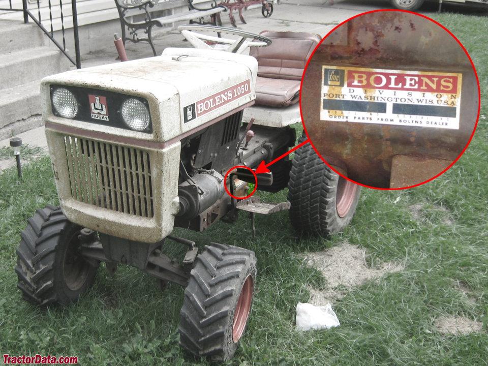 Bolens 1050 Tractor Parts : Tractordata bolens tractor information