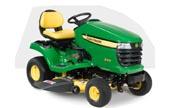 John Deere X310 lawn tractor photo