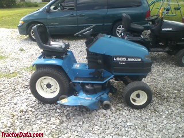 TractorData.com New Holland LS35 tractor photos information
