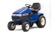 New Holland LS55 lawn tractor photo
