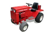 Wheel Horse D-180 lawn tractor photo
