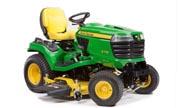 John Deere X734 lawn tractor photo