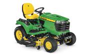 John Deere X750 lawn tractor photo