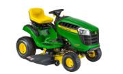 John Deere D105 lawn tractor photo