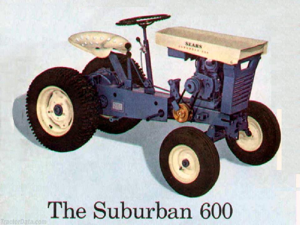 Sears Suburban 600 Tractor