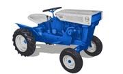 Sears Suburban 725 917.60634 lawn tractor photo