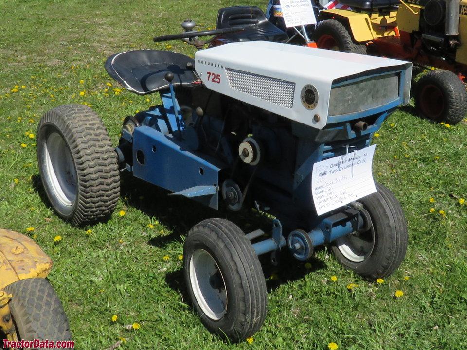 Sears Suburban 725 Tractor