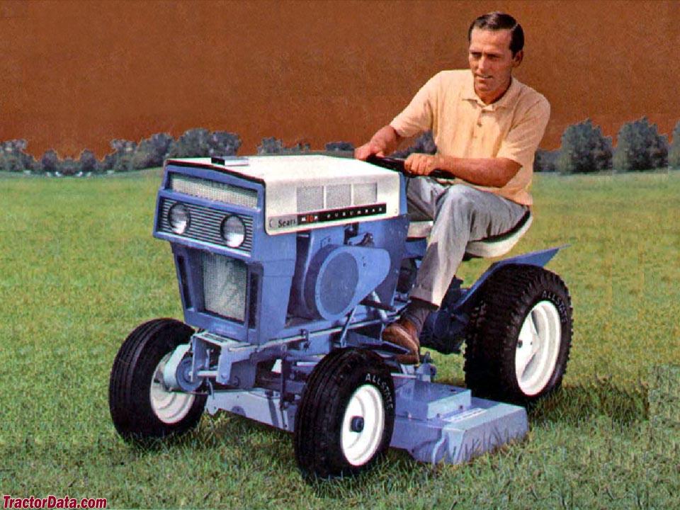 Sears Suburban 10 Tractor Photos