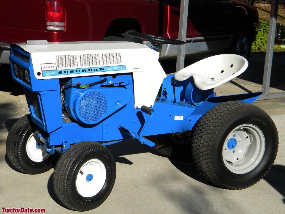 Sears Suburban 12 Garden Tractor : Tractordata sears suburban  tractor photos