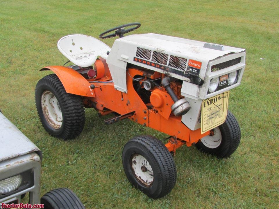 Tractordatacom sears suburban 12 91725350 tractor photos for Sears garden tractor