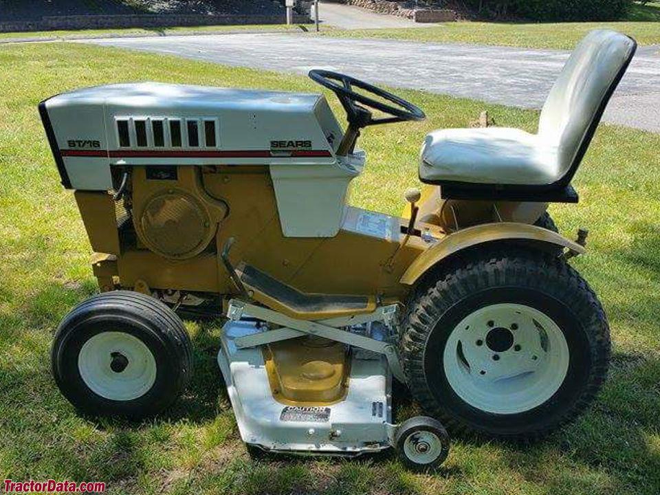 Sears Garden Tractor 16 Horse : Tractordata sears st  tractor photos