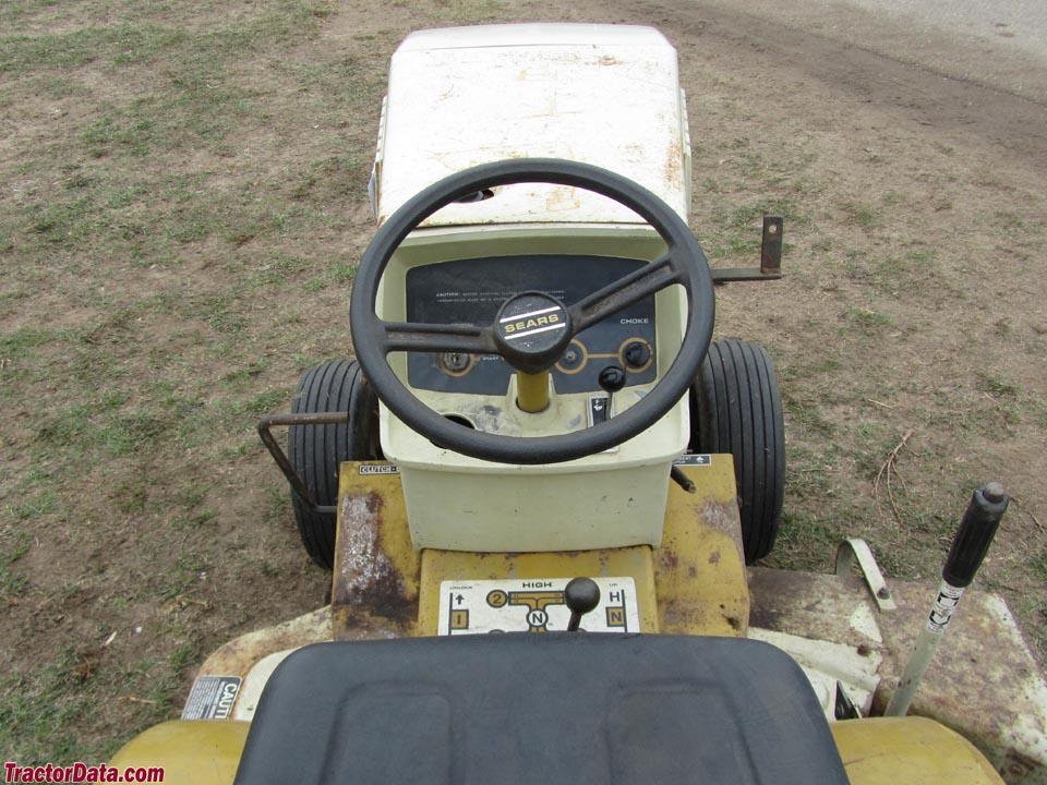 Sears Garden Tractors St 16 1976 : Tractordata sears st  tractor photos