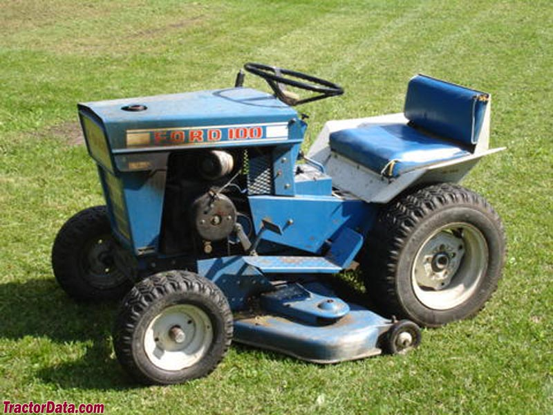 Ford lawn tractor parts manual for Ford garden tractor